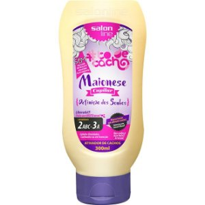 Ativador Cacho Salon Line Maionese To de Cacho 2ABC-3A 300ml