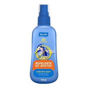 Repelente Spray Deet Baruel Kids 100ml