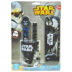 Conjunto Escolar Imperial Star Wars