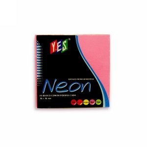 Bloco Adesivo Post It Yes Pink 76x76mm