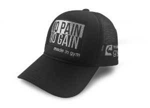 Boné No Pain No Gain Trucker