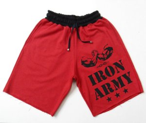Bermuda Moletom Iron Army