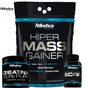 COMBO - SUPER SERIE ( hiper Mass GAINER + BCAA + CREATINA)
