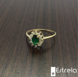 ANEL OURO 18K AN6118