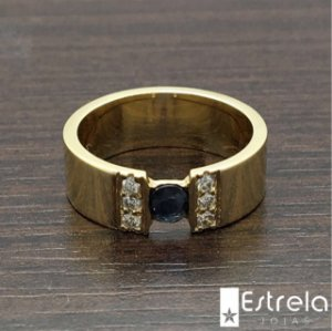 ANEL OURO 18K/750 AN7