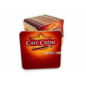 CIGARRILHA CAFE CREME AROME - Estojo Metal 10un
