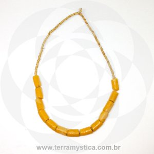 GUIA CORAL GROSSO AFRICANO - AMARELO