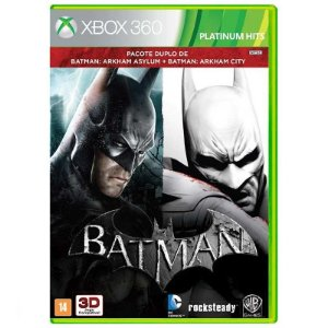 Jogo Batman: Arkham Asylum + Batman: Arkham City - Xbox 360