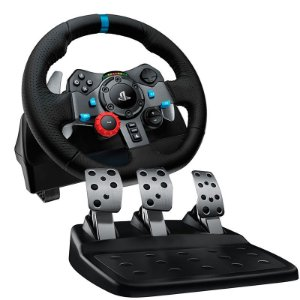 Volante Logitech Driving Force G29 - PS4, PS3 e PC