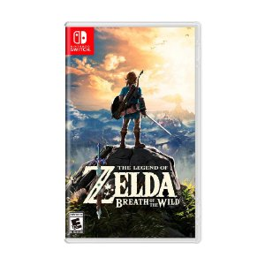 Jogo The Legend of Zelda: Breath of the Wild - Switch