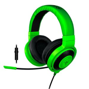 Headset Razer Kraken Pro Green 2015 - PC/Mac e PS4