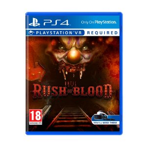 Jogo Until Dawn: Rush of Blood - PS4 VR