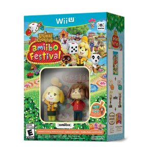 Bundle Animal Crossing: Amiibo Festival + Isabelle e Digby - Wii U