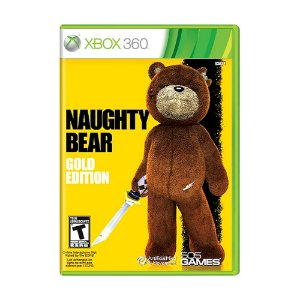Jogo Naughty Bear: Gold Edition - Xbox 360