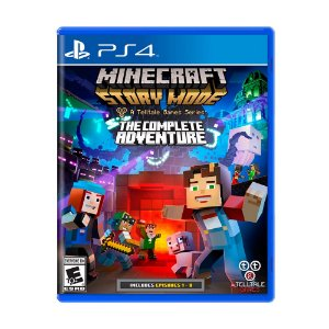 Jogo Minecraft: Story Mode (The Complete Adventure) - PS4