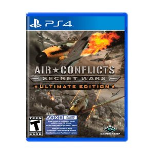 Jogo Air Conflicts: Secret Wars (Ultimate Edition) - PS4