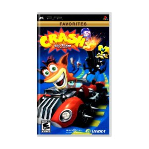 Jogo Crash: Tag Team Racing - PSP