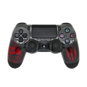 Controle Dualshock 4 The Witcher 3: Wild Hunt sem fio - Casual - PS4