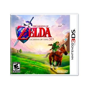 Jogo The Legend of Zelda: Ocarina of Time - 3DS