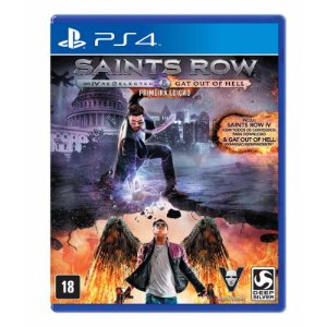 Jogo Saints Row IV: Re-Elected + Gat out of Hell - PS4