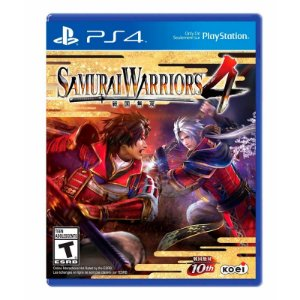 Jogo Samurai Warriors 4 - PS4