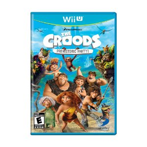 Jogo The Croods: Prehistoric Party! - Wii U