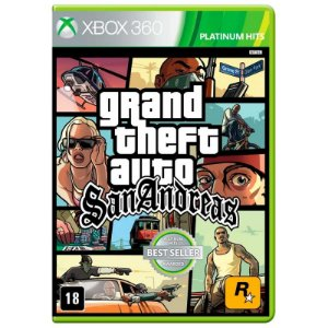 Jogo Grand Theft Auto: San Andreas (GTA) - Xbox 360