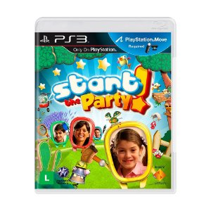 Jogo Start the Party! - PS3