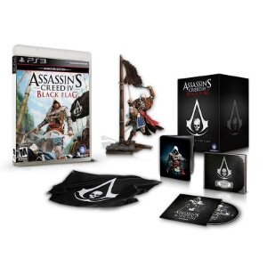 Jogo Assassin's Creed IV Black Flag (Limited Edition) - PS3