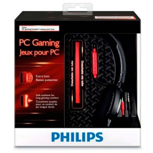 Headset Philips SHG7210 com fio - PC
