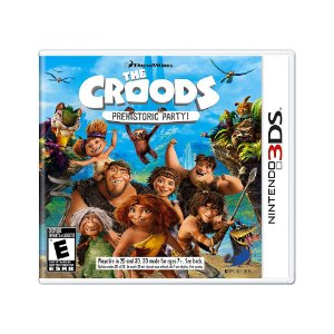 Jogo The Croods: Prehistoric Party! - 3DS