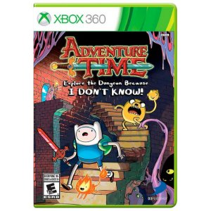 Jogo Adventure Time: Explore the Dungeon Because I Don't Know - Xbox 360