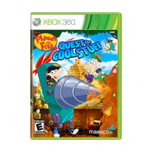 Jogo Phineas and Ferb: Quest for Cool Stuff - Xbox 360