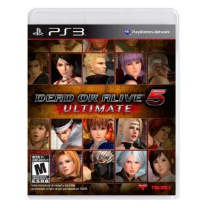 Jogo Dead or Alive 5 Ultimate - PS3