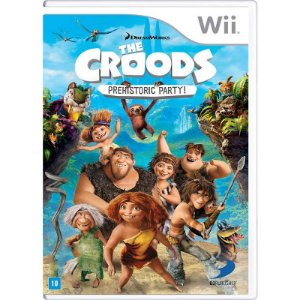 Jogo The Croods: Prehistoric Party! - Wii