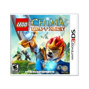Jogo LEGO Legends of Chima: Laval's Journey - 3DS