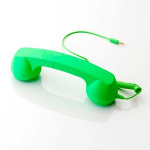 Fone Headset Retro Coco Phone Verde