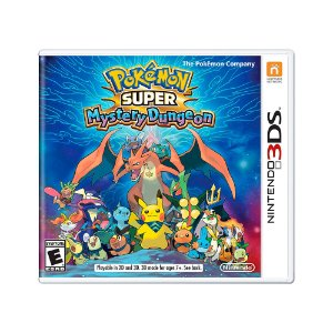 Jogo Pokémon Super Mystery Dungeon - 3DS
