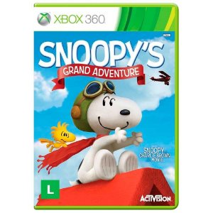Jogo The Peanuts Movie: Snoopy's Grand Adventure - Xbox 360