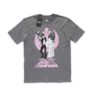 Camiseta Studio Geek Han & Leia Star Wars - Modelo 8