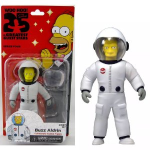 Action figure Buzz Aldrin The Simpsons 25th Anniversary Series 4 - Neca