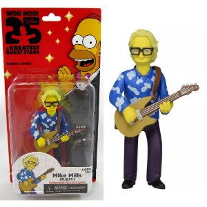Action figure Mike Mills (R.E.M) The Simpsons 25th Anniversary Series 3 - Neca