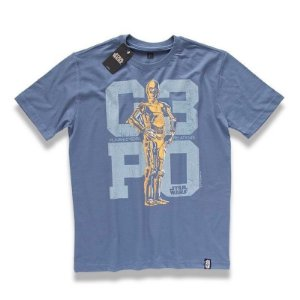 Camiseta Studio Geek C3PO Star Wars - Modelo 15
