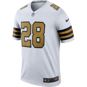 Jersey - 28 Adrian Peterson - New Orleans Saints - Color Rush