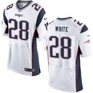 Jersey - 28 James White - New England Patriots