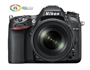 Camera Nikon D7100 Com Lente 18 105mm DX CMOS 24.1 Megapixels Full HD