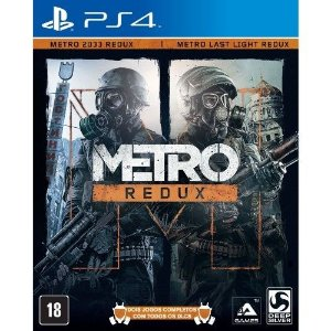 JOGO Metro Redux - Playstation 4 - PLAY 4 - PS4 / FPS