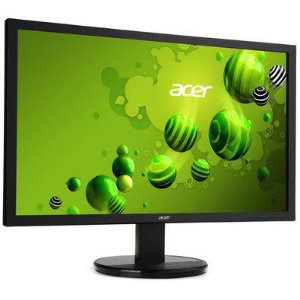 "MONITOR 21,5"" LED ACER - VGA - VESA - DVI - INCLINACAO 25° - K222HQL"