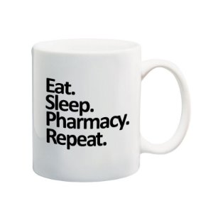 Caneca Eat. Sleep. Pharmacy. Repeat