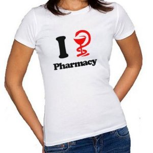 Camisa I Love Pharmacy Feminina